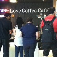 Photo taken at Love Coffee Café by Carrie P. on 5/30/2012