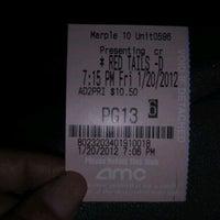 Photo taken at AMC Marple 10 by Sharvon U. on 1/21/2012