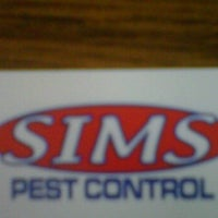 Photo taken at Sims Pestcontrol by Buddy W. on 11/15/2011