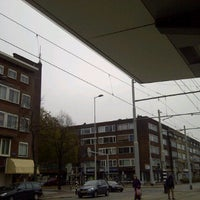 Photo taken at Tramhalte Schieweg by Mika G. on 11/3/2011
