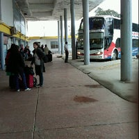 Photo taken at Terminal de Ómnibus de San Bernardo by Ana Maria D. on 10/10/2011