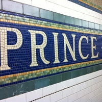 Photo taken at MTA Subway - Prince St (R/W) by James C. on 12/24/2010
