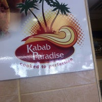 Photo taken at Kabab Paradise by Larry J. on 4/12/2012