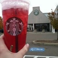 Photo taken at Starbucks by Amanda P. on 11/13/2011