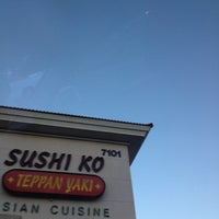 Photo taken at Sushi Ko by D J. on 9/3/2012