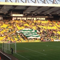Photo taken at Carrow Road by Lily P. on 5/22/2012