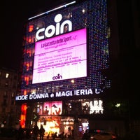 Photo taken at Coin by Luciano C. on 10/30/2011
