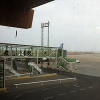 Photo taken at Andrés Sabella Gálvez International Airport (ANF) by Marcos Minoru H. on 6/23/2012