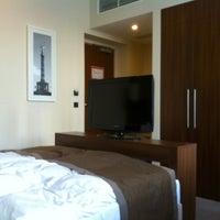 Photo taken at Leonardo Royal Hotel by Nastya Y. on 1/4/2012