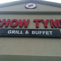Photo taken at Chow Tyme Grill & Buffet by JennDuede on 4/18/2012