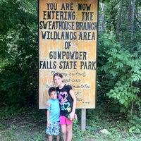Photo taken at Big Gunpowder Trail by Tim on 7/10/2011