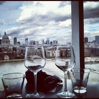 Photo taken at Restaurant - Tate Modern by Lee O. on 9/12/2012