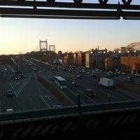 Photo taken at MTA Subway - Astoria Blvd/Hoyt Ave (N/W) by Robert G. on 3/19/2011