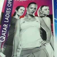Photo taken at Khalifa International Tennis & Squash Complex by Il Mare ® on 2/20/2011