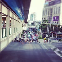 Photo taken at Asok Intersection by Sorn Savisith |. on 11/14/2011