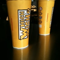 Photo taken at Which Wich? Superior Sandwiches by Chase Y. on 12/30/2011