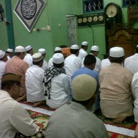 Photo taken at Masjid Habiburrahman by sangaji b. on 1/28/2012