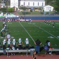 Photo taken at Burbank High Football Field by Chip S. on 10/8/2011