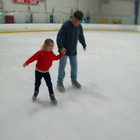 Photo taken at Northland Ice Center by Rebecca S. on 7/19/2012