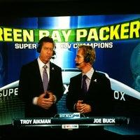 Photo taken at Super Bowl Sunday by Steve B. on 2/7/2011