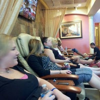 Photo taken at Venetian Nail Salon & Spa by Meghan E. on 12/23/2011