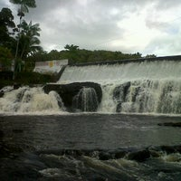 Photo taken at Cachoeira do Acaraí by Fabio B. on 1/13/2012