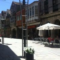 Photo taken at Paseo Peatonal Porriño by Nazareth V. on 8/2/2012