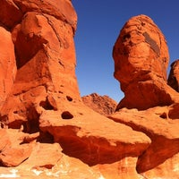 Photo taken at Valley of Fire State Park by Jim M. on 11/2/2011