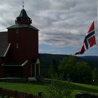 Photo taken at Kinn kirke by Knut E. F. on 8/31/2012