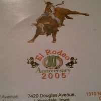 Photo taken at El Rodeo by Pete on 1/23/2012