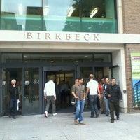 Photo taken at Birkbeck, University of London by Ricardo P. on 10/4/2011