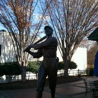 Photo taken at Shoeless Joe Jackson Statue by Russell B. on 12/17/2011