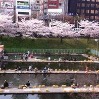 Photo taken at Ichigaya Station by Motoyuki N. on 4/10/2012
