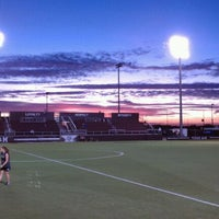 Photo taken at Ellis Field - Aggie Soccer Stadium by Michael G. on 11/11/2011