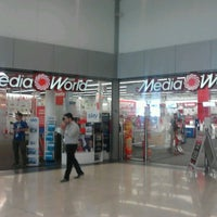 Photo taken at Media World by Thiago A. on 7/25/2012