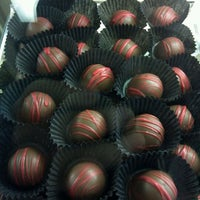 Photo taken at Chocolate Chocolate Chocolate Company by Rick D. on 1/21/2012