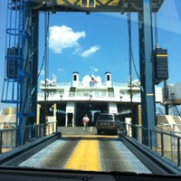 Photo taken at Cape May-Lewes Ferry | Cape May Terminal by Benji I. on 5/29/2012
