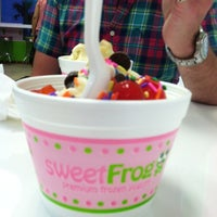 Photo taken at sweetFrog by Mark M. on 8/27/2012