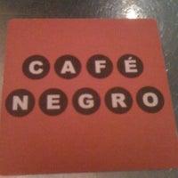 Foto diambil di Café Negro oleh Rocio A. pada 1/1/2012