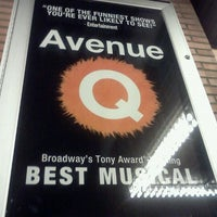 Photo taken at Avenue Q by Melony I. on 12/3/2011