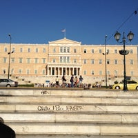 Photo taken at Syntagma Square by Periklis T. on 9/4/2012