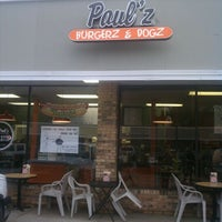 Photo taken at Paul'z Burgerz & Dogz by Chris S. on 5/9/2011