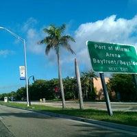 Photo taken at PortMiami by Dustin O. on 11/1/2011