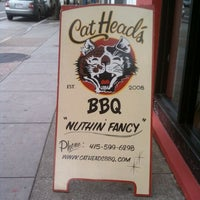 Photo taken at CatHead's BBQ by Zachary C. on 1/23/2012
