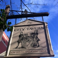 Photo taken at City Tavern by Danny S. on 12/4/2011