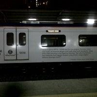 Photo taken at KTM Line - Sungai Buloh Station (KA08) by Danial N. on 8/26/2012