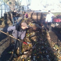 Photo taken at Red Hook Community Farm by wqnscompost .. on 12/11/2011