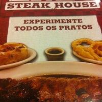 Photo taken at Enzo SteakHouse by Débora T. on 7/31/2012