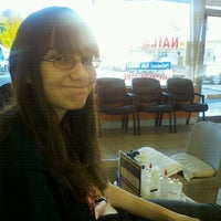 Photo taken at Nancy's Nails by Deanna S. on 12/29/2011
