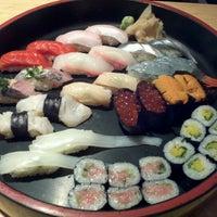 Photo taken at Kisaku Sushi by Tomo K. on 12/16/2011